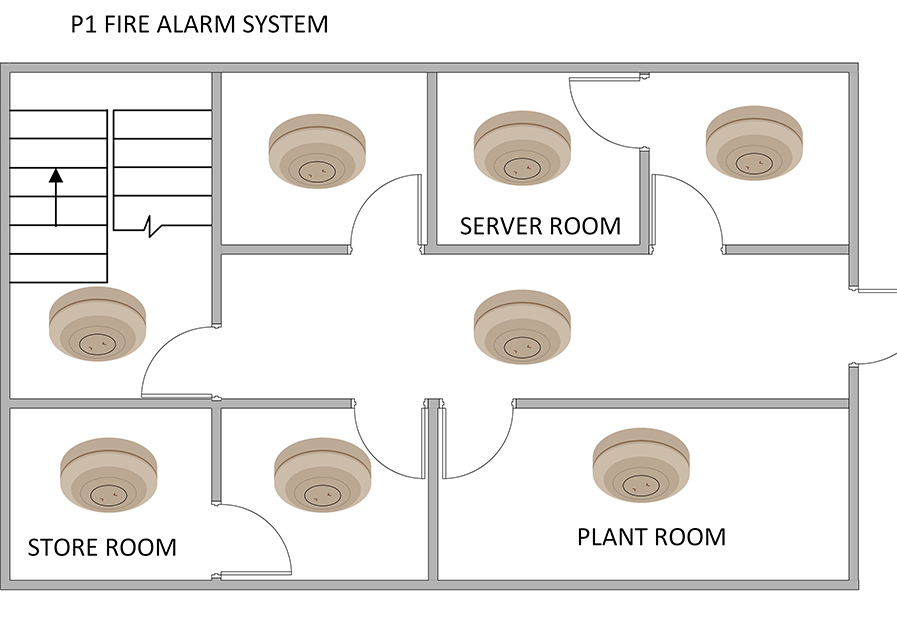 P1 Category Fire Alarm System
